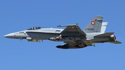 J-5008 - McDonnell Douglas F/A-18C Hornet - Switzerland - Air Force
