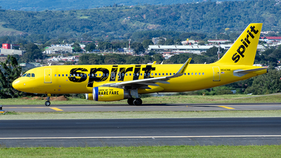 A picture of N643NK - Airbus A320232 - Spirit Airlines - © Cristian Quijano