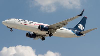 XA-OOO - Boeing 737-8FZ - Aeromexico