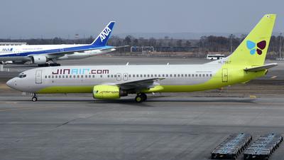 HL7567 - Boeing 737-86N - Jin Air