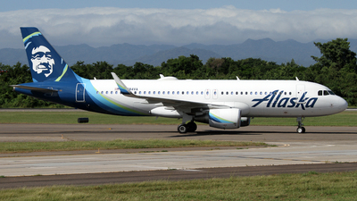 A picture of N284VA - Airbus A320214 - Alaska Airlines - © Daniel Lapierre Forget