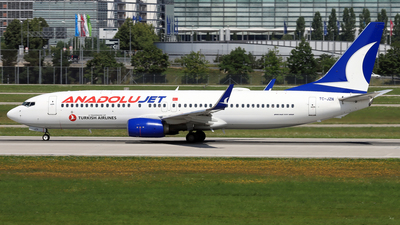TC-JZN - Boeing 737-8JP - AnadoluJet