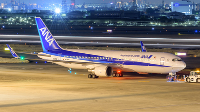 JA623A - Boeing 767-381(ER) - All Nippon Airways (Air Japan)
