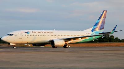 PK-GNH - Boeing 737-8U3 - Garuda Indonesia