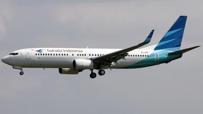PK-GFD - Boeing 737-8U3 - Garuda Indonesia