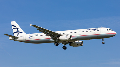 A picture of SXDNG - Airbus A321231 - Aegean Airlines - © Andre Bonn