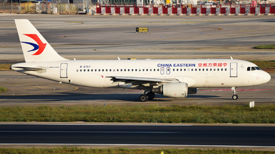 A picture of B6757 - Airbus A320214 - China Eastern Airlines - © guweishi
