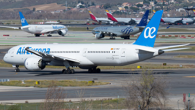 A picture of ECMSZ - Boeing 7879 Dreamliner - Air Europa - © Mateo León