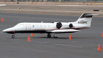 N355PC - Gates Learjet 35A - Private