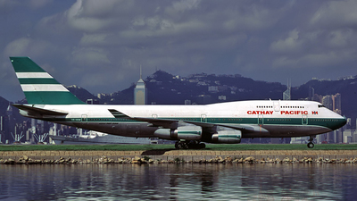 VR-HOW - Boeing 747-467 - Cathay Pacific Airways
