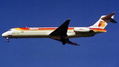 EC-EXG - McDonnell Douglas MD-87 - Iberia