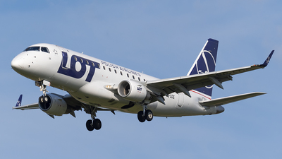 SP-LDE - Embraer 170-100STD - LOT Polish Airlines