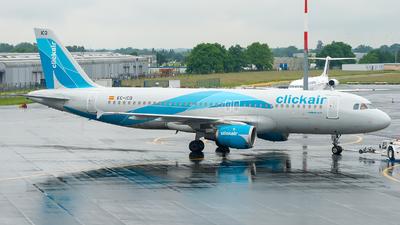 EC-ICQ - Airbus A320-211 - Clickair