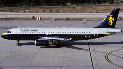G-CVYG - Airbus A320-231 - Caledonian Airways