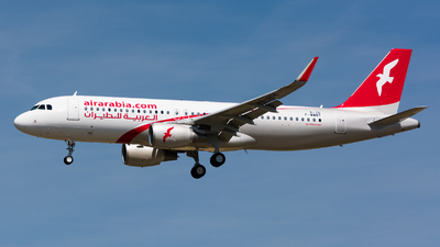 F-WWBT - Airbus A320-214 - Air Arabia