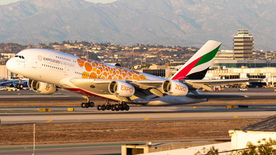 A picture of A6EOE - Airbus A380861 - Emirates - © Alex Crail