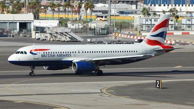 G-EUUG - Airbus A320-232 - British Airways