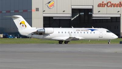 N155MW - Bombardier CRJ-200LR - Elite Airways