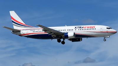 N285XA - Boeing 737-4Q8 - Xtra Airways