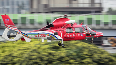 NA-106 - Eurocopter AS 365C3 Dauphin 2 - Taiwan - National Airborne Service Corps (NASC)