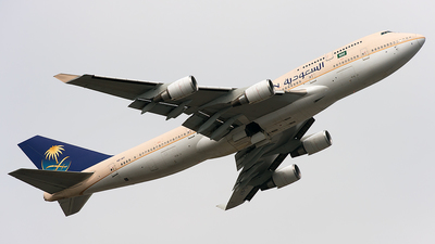 HZ-AIY - Boeing 747-468 - Saudi Arabian Airlines