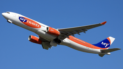 OY-VKH - Airbus A330-343 - MyTravel Airways AS