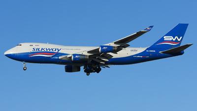 4K-SW008 - Boeing 747-4R7F(SCD) - Silk Way West Airlines