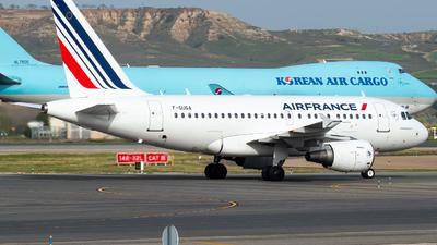 A picture of FGUGA - Airbus A318111 - Air France - © Mateo León