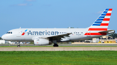 N818AW - Airbus A319-112 - American Airlines