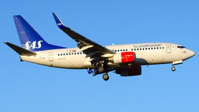 A picture of LNTUL - Boeing 737705 - SAS - © Laszlo Fekete