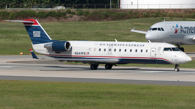 N241PS - Bombardier CRJ-200ER - US Airways Express (PSA Airlines)