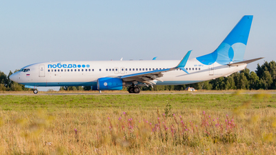 VP-BPJ - Boeing 737-8AL - Pobeda