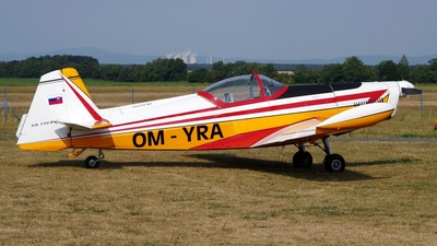 OM-YRA - Zlin 526AFS-V - Private