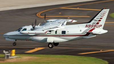 A picture of N999UP - Mitsubishi MU2B60 - [1557S.A.] - © Hector Rivera - Puerto Rico Spotter