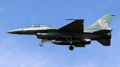 TS-1620 - General Dynamics F-16D Fighting Falcon - Indonesia - Air Force