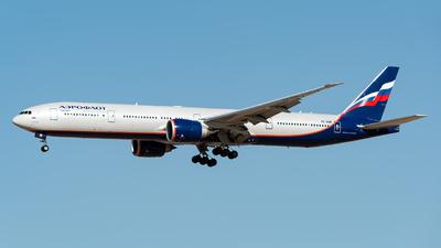 A picture of VQBQM - Boeing 7773M0(ER) - Aeroflot - © Jet92