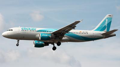 EC-KMI - Airbus A320-216 - Clickair