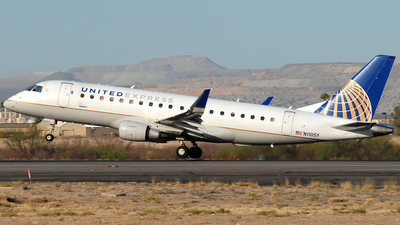 A picture of N110SY - Embraer E175LR - United Airlines - © Jason Whitebird