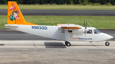 N903GD - Britten-Norman BN-2A-8 Islander - Air Flamenco