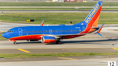 N7734H - Boeing 737-7BD - Southwest Airlines