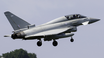 ZK380 - Eurofighter Typhoon T.3 - United Kingdom - Royal Air Force (RAF)