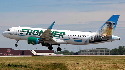 A picture of N236FR - Airbus A320214 - Frontier Airlines - © Chrisjake