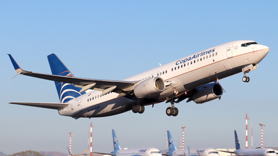 A picture of HP1840CMP - Boeing 7378V3 - Copa Airlines - © Kenneth Mora Flores KMF777