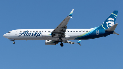 A picture of N317AS - Boeing 737990 - Alaska Airlines - © Yixin Chen