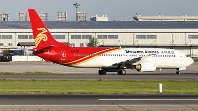 A picture of B5109 - Boeing 73797L - Shenzhen Airlines - © Minizyi
