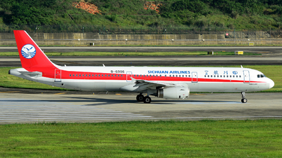 A picture of B6906 - Airbus A321231 - Sichuan Airlines - © F3E1988