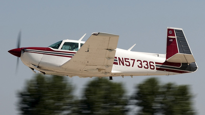 N57336 - Mooney M20J - Private