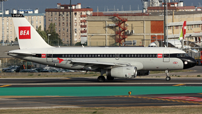 G-EUPJ - Airbus A319-131 - British Airways