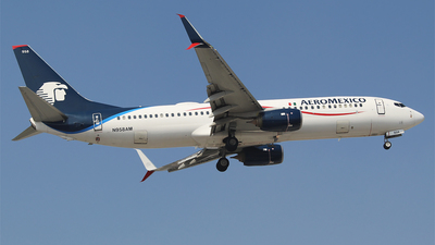 A picture of N958AM - Boeing 737852 - Aeromexico - © Alejandro Aceves