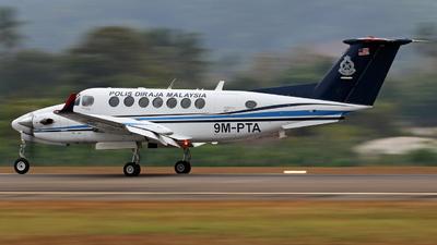 9M-PTA - Beechcraft B300 King Air 350 - Malaysia - Police